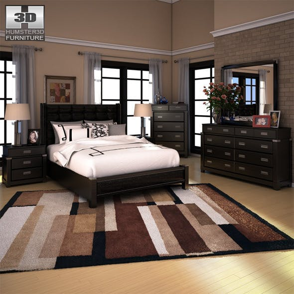 Ashley Diana Platform Bedroom Set