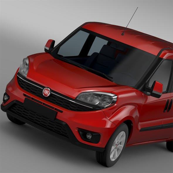 Fiat Doblo Maxi Combi 263 2015 - 3DOcean Item for Sale