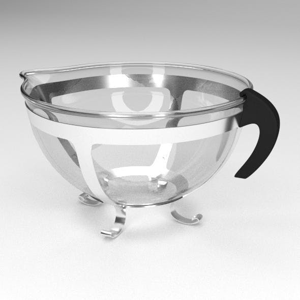 Modern Teapot - 3DOcean Item for Sale