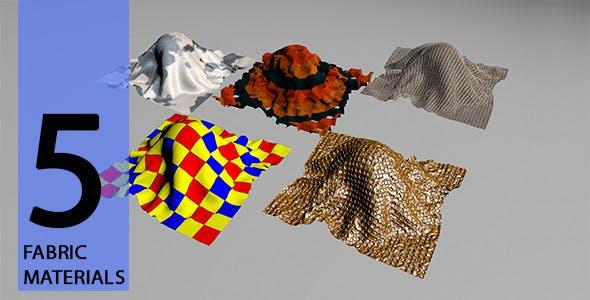 Fabric Materials - 3DOcean Item for Sale