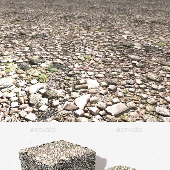 Rubble Seamless Texture