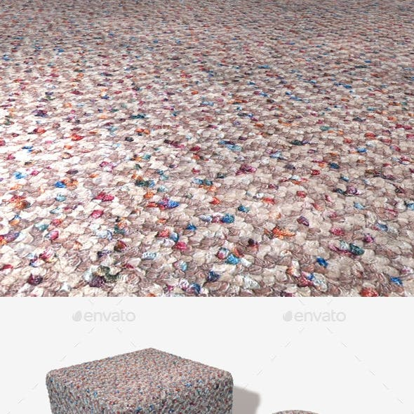 Speckled Short Carpet Seamless Texture