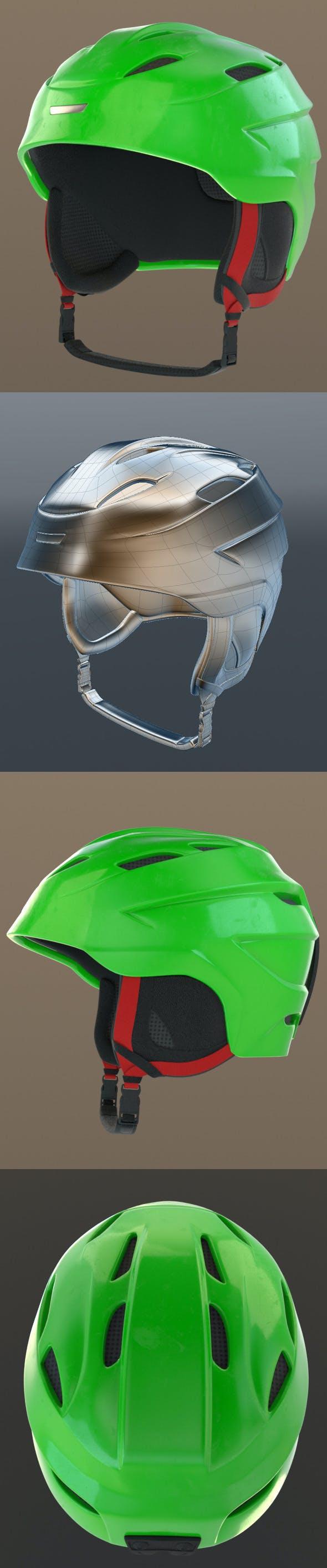 Ski Helmets NINE.10 - 3DOcean Item for Sale