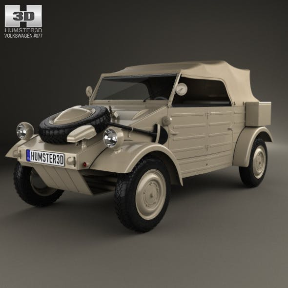Volkswagen Kubelwagen 1945 - 3DOcean Item for Sale