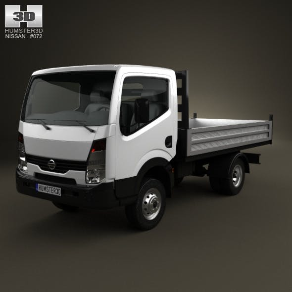 Nissan Cabstar Tipper Truck 2006 - 3DOcean Item for Sale