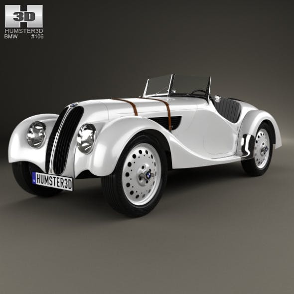 BMW 328 1936 - 3DOcean Item for Sale