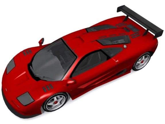 McLaren GT-R Road Version - 3DOcean Item for Sale