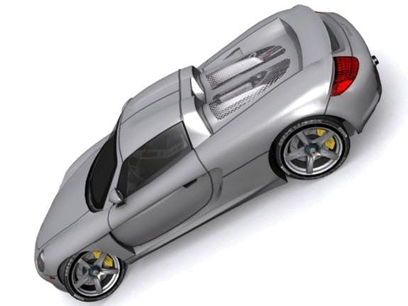 Porsche Carrera GT - 3DOcean Item for Sale