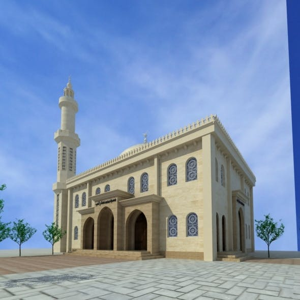 Mosque - 3DOcean Item for Sale