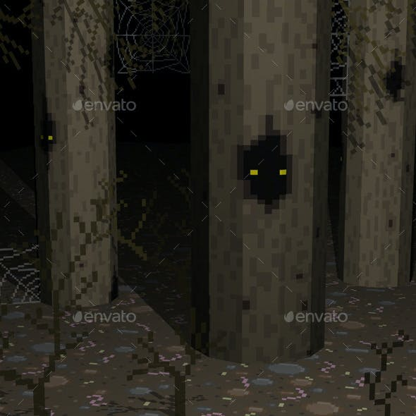 20 Horror Pixel Texture Pack