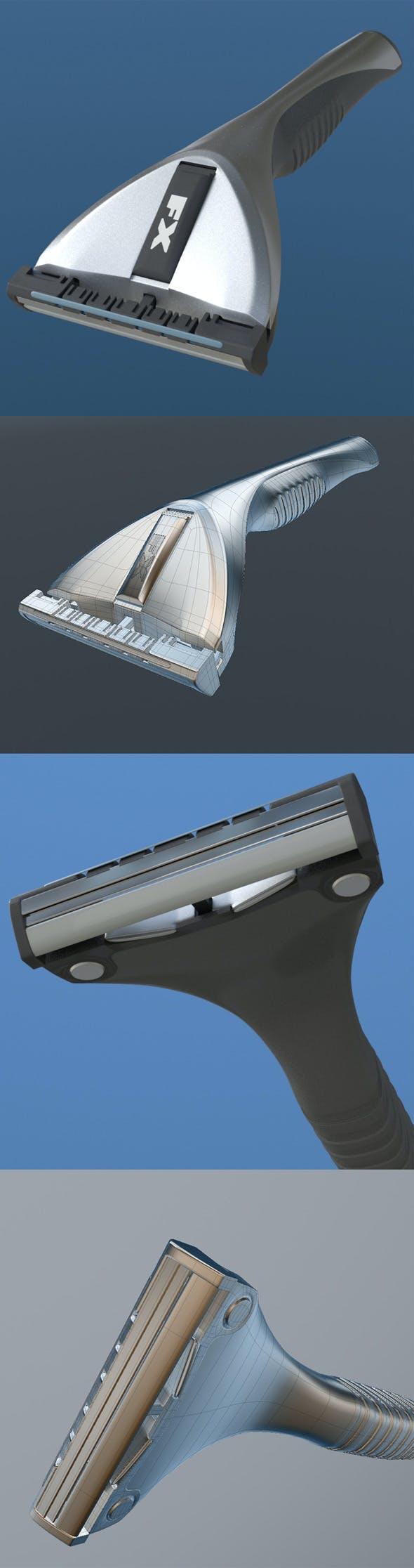 shaver - 3DOcean Item for Sale