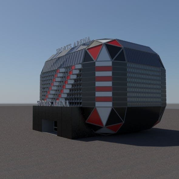 Modern Sports Arena  - 3DOcean Item for Sale