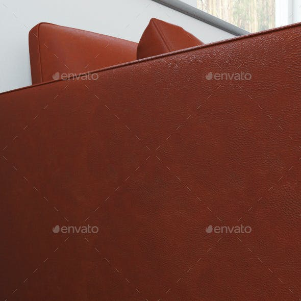 Black and brown leather seamless texture