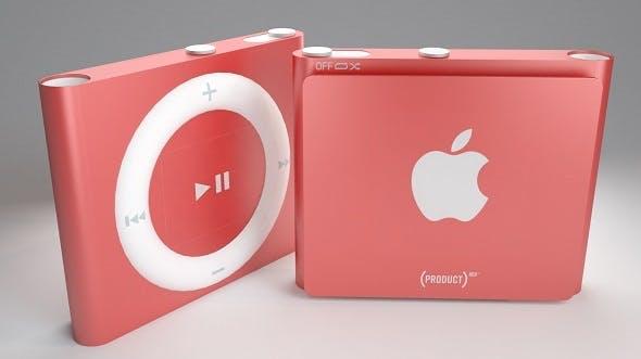 Apple iPod Shuffle 4th Vray & Corona Ready - 3DOcean Item for Sale