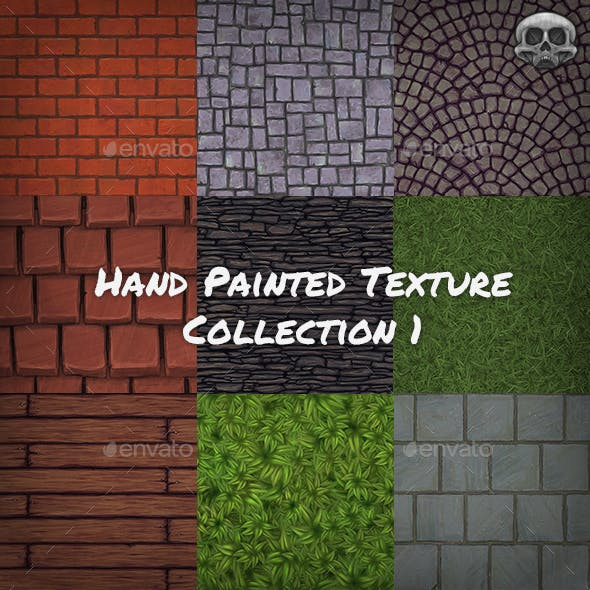 Hand Painted Texture Collection