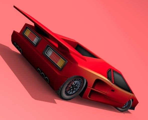 GTX-R Twin Turbo - 3DOcean Item for Sale