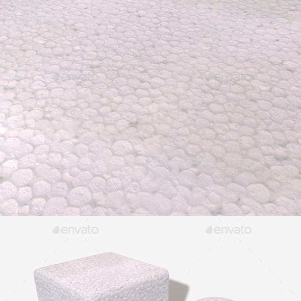Polystyrene Seamless Texture