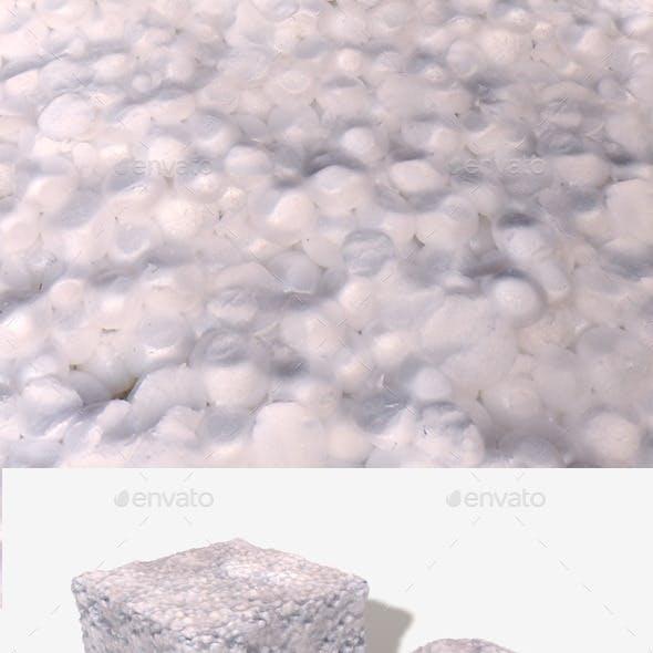 Polystyrene Broken Seamless Texture