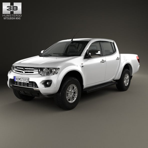 Mitsubishi L200 Triton Double Cab HPE 2014 - 3DOcean Item for Sale