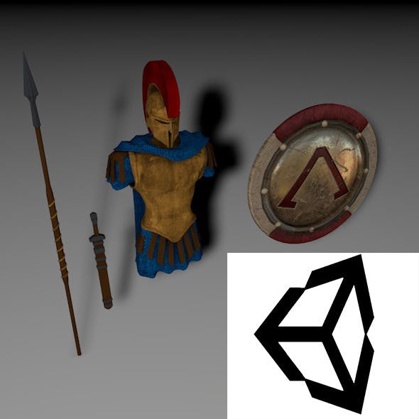 Sparta armor - 3DOcean Item for Sale