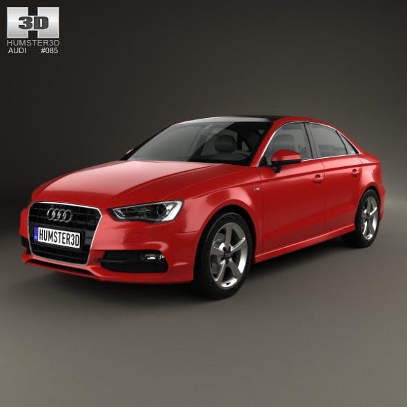 Audi A3 S line sedan 2013 - 3DOcean Item for Sale