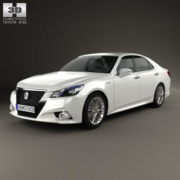 Toyota Crown Hybrid Athlete 2013 - 3DOcean Item for Sale