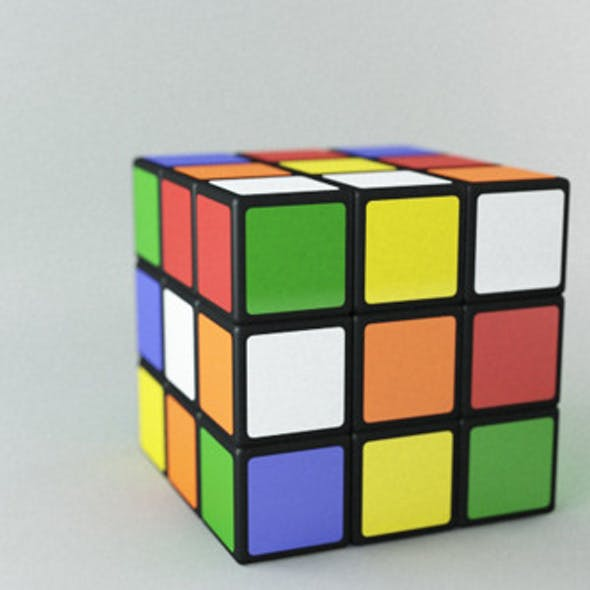 Realistic Rubix Cube