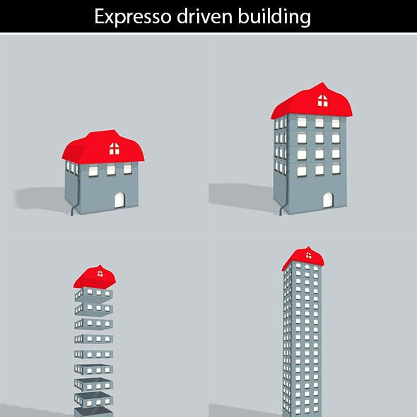 3D building with Expresso