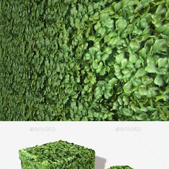 Plastic Bush Seamless Texture