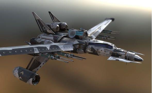 Eagle Starship - 3DOcean Item for Sale