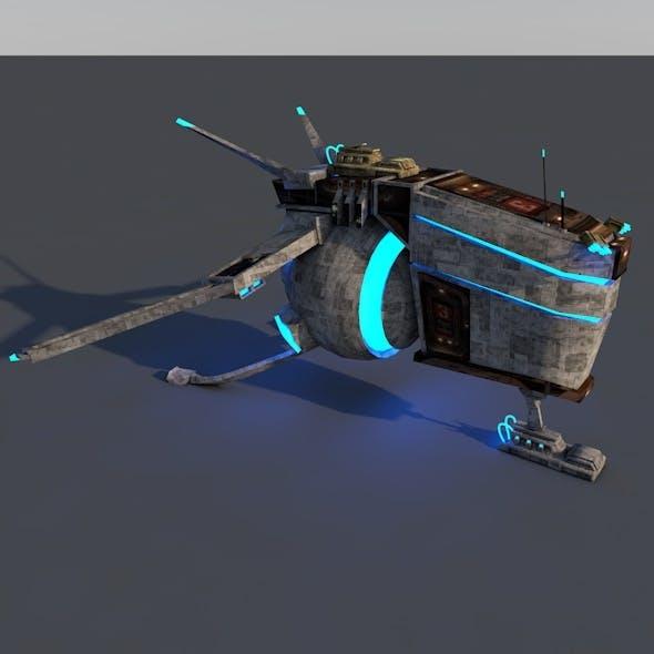 Spacecraft - 3DOcean Item for Sale