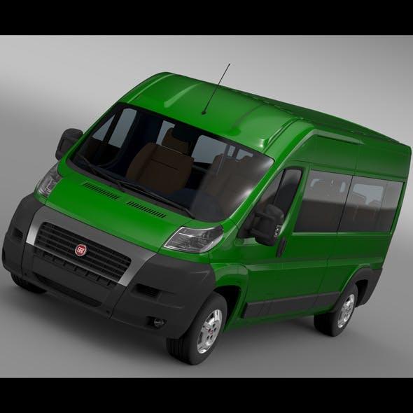 Fiat Ducato Maxi Bus L4H2 2006-2014
