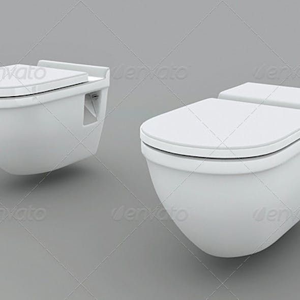 Wall Mounted Toilets - 2 DuravitStarck