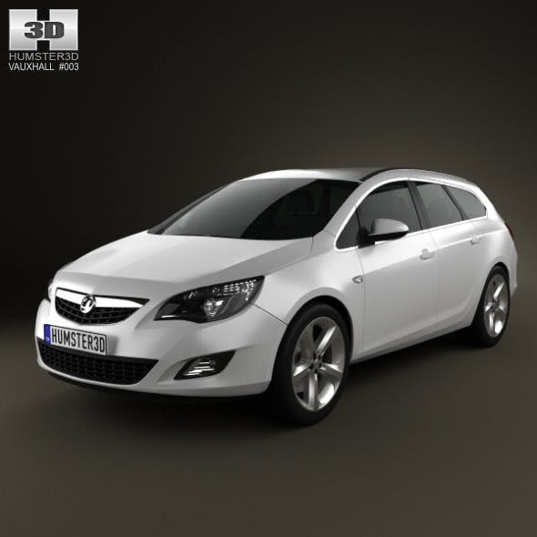 Vauxhall Astra Sports Tourer 2011 - 3DOcean Item for Sale