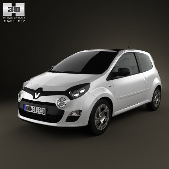 Renault Twingo 2012 - 3DOcean Item for Sale