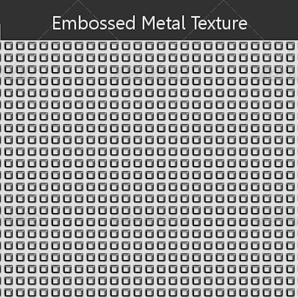 Embossed Metal Texture