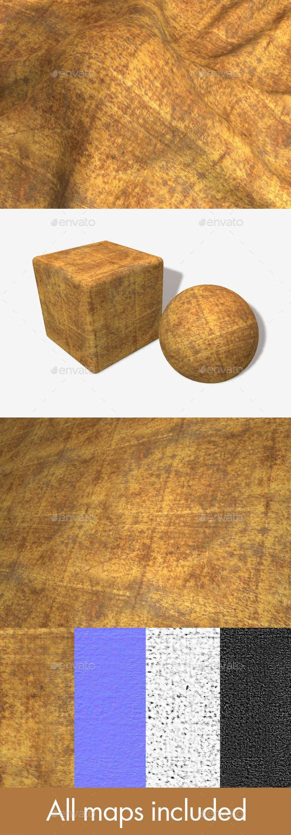 Dirty Tent Fabric Seamless Texture - 3DOcean Item for Sale