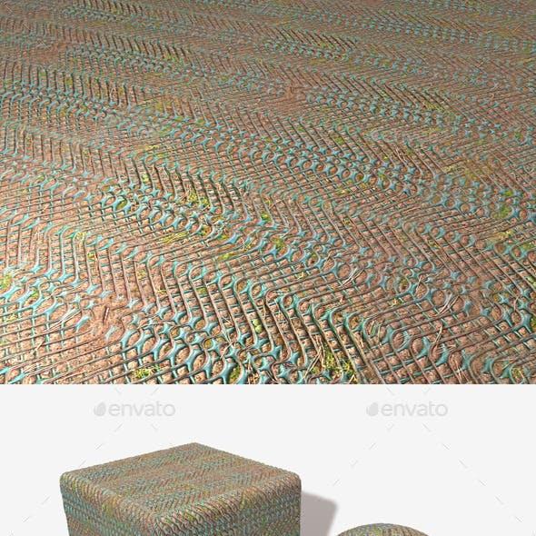 Forest Floor Grip Seamless Texture