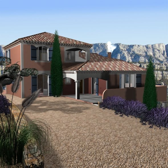 Villa from south of France