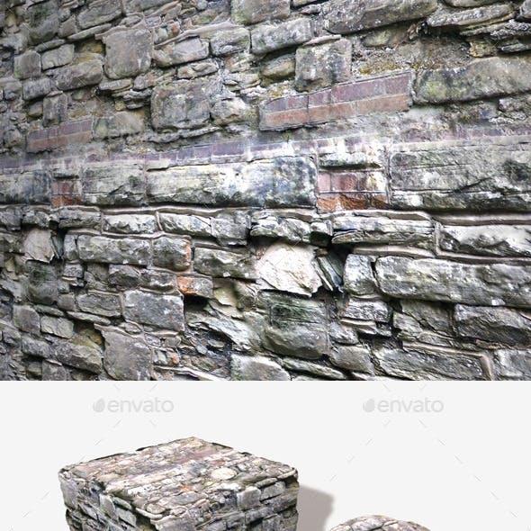 Crumbling Random Wall Seamless Texture
