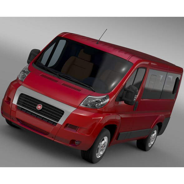 Fiat Ducato Mini Bus L1H1 2006-2014 - 3DOcean Item for Sale