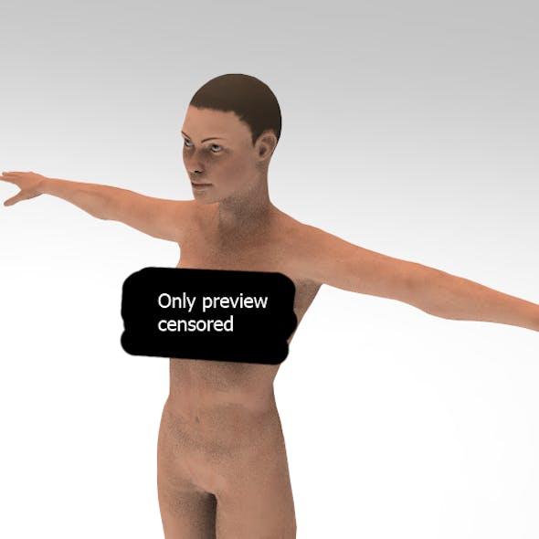 Realistic Average Naked Woman