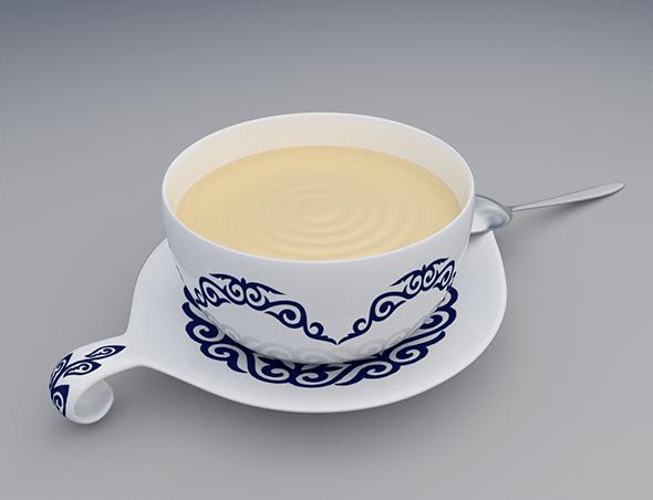 Tea Cup - 3DOcean Item for Sale