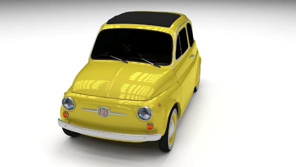 Fiat Nuova 500D 1960 - 3DOcean Item for Sale