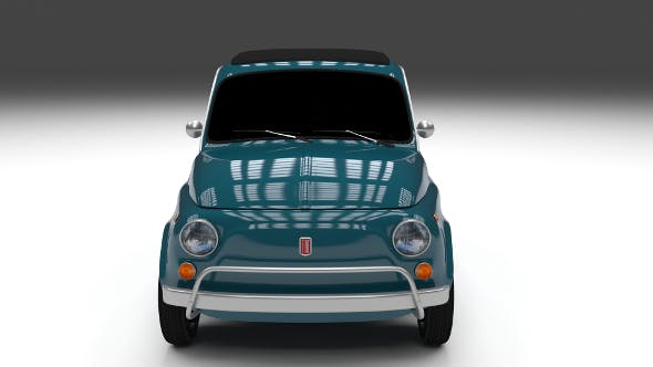 Fiat 1968 500L Luxe - 3DOcean Item for Sale