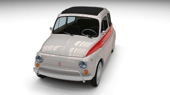 Fiat 500 Nuova Sport 1958 - 3DOcean Item for Sale