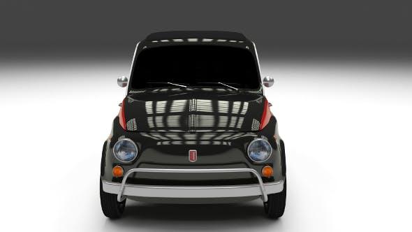 Fiat Nuova Sport 500 1958 - 3DOcean Item for Sale