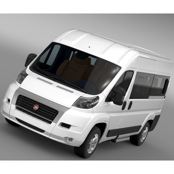 Fiat Ducato Panorama L2H2 2006-2014 - 3DOcean Item for Sale