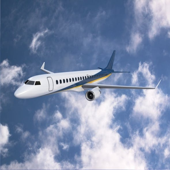 Embraer 190 commercial jet