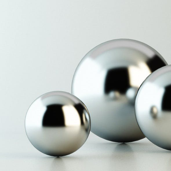 C4D V-Ray Stainless Steel Material - 3DOcean Item for Sale